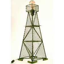 "Industrial Evolution Oil Derrick 23.5"" H Table Lamp"