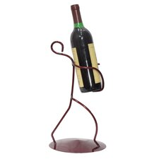 <strong>Metrotex Designs</strong> Iron Borracho Wine Rack (Front)