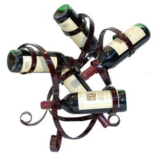 <strong>Metrotex Designs</strong> 5 Bottle Tabletop Wine Rack