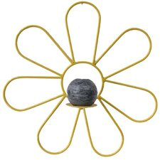 Girly Chic Flower Power Wall Candle Sconce