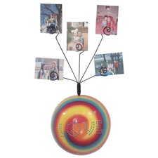 Girly Chic Tie Dye LOVE Wall Photo Bubble