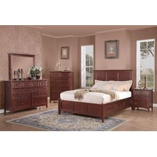 <strong>Mastercraft Collections</strong> Cantebury Panel Storage Bedroom Collection