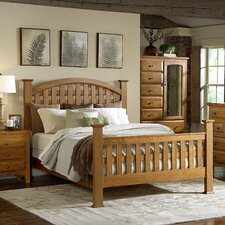 Retreat California King Slat Bed