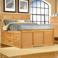Urban Homemaker California King Storage Panel Bed