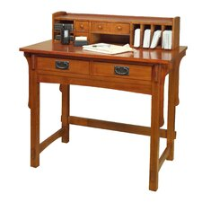 Missions Writing Desk Hutch