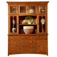 <strong>Mastercraft Collections</strong> Prairie Mission Hutch and Buffet