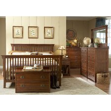 <strong>Mastercraft Collections</strong> Prairie Mission Slat Bedroom Collection
