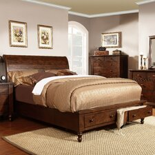 <strong>Mastercraft Collections</strong> Sleigh Storage Bed