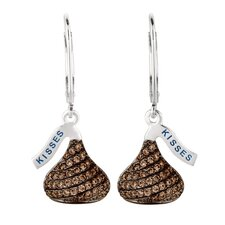 Cubic Zirconia Lever Back Drop Earrings