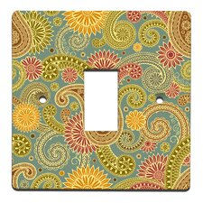 Paisley Switch Cover