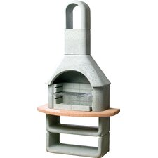 Kortina Masonry Barbecue in Grey