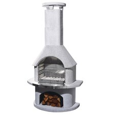 Elba Masonry Barbecue Fireplace