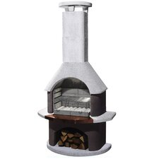 San Remo Masonry Barbecue Fireplace