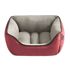 Reversible Rectangular Cuddler Bolster Dog Bed