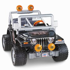 Power Wheels Tough Talking 12V Battery Powered Jeep