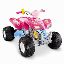 <strong>Fisher-Price</strong> Barbie Kawasaki KFX 12V Battery Powered ATV