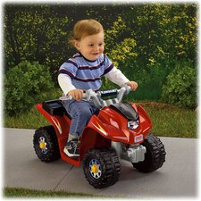 Power Wheels Kawasaki Lil' Quad 6V Battery Powered ATV