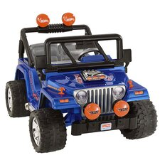 <strong>Fisher-Price</strong> Power Wheels Wrangler 12V Battery Powered Jeep