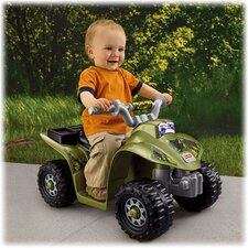 Power Wheels Lil' Quad 6V Battery Powered ATV