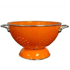 Calypso Basics 3 Quart Colander in Orange