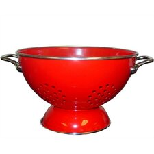 Calypso Basics 5 Quart Colander in Red