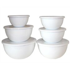 <strong>Reston Lloyd</strong> Calypso Basics 12 Piece Bowl Set in White