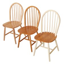 Windsor Rubberwood Dining Chair (Set of 2)