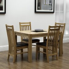 Valentia 5 Piece Dining Set