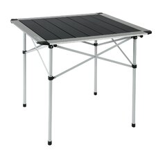 Square Aluminium Roll Top Folding Picnic Table