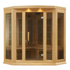 <strong>Maxxus</strong> 3 Person Corner Carbon FAR Infrared Sauna