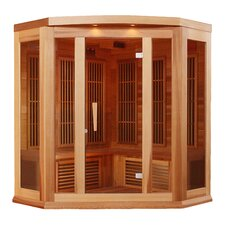 3 Person Corner Carbon FAR Infrared Sauna