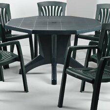 Olimpo Octagonal Resin Dining Table