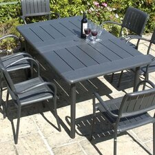 Maestrale Rectangular Aluminium Dining Table