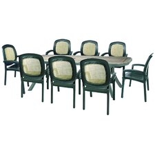Toscana 9 Piece Rectangular Dining Set