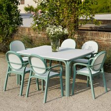 Lauro 7 Piece Rectangular Dining Set