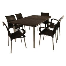 Maestrale 7 Piece Rectangular Dining Set