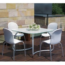 Loto 5 Piece Square Dining Set