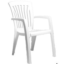 Dianna Stackable Arm Chair (Set of 2)