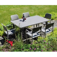 Libeccio 7 Piece Rectangular Dining Set