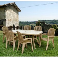 Toscana Rectangular Dining Table