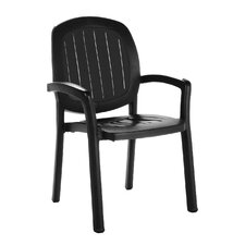 Kappa Stackable Arm Chair (Set of 2)