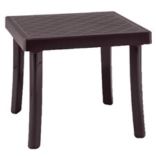 Rodi Square Plastic Resin Side Table