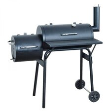 Barbecue-Smoker Grill in Schwarz