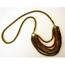 Rachel Paula Fall Silk Rope Necklace