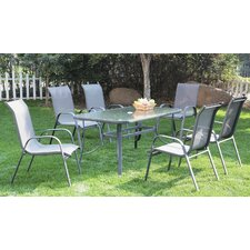 Corumba 7 Piece Rectangular Dining Set