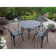 Belabre 5 Piece Round Dining Set
