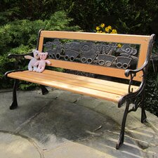 Kids Resin Back Bench