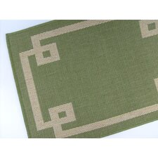 <strong>American Mills</strong> Borderline Emerald Rug