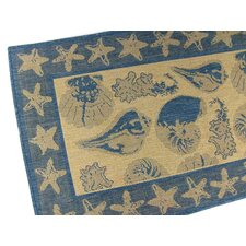 By the Sea Blue Novelty Rug