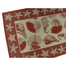 By the Sea Terracotta Novelty Rug